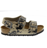Birkenstock Milano colour sprays beige narrow ecru