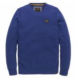 PME Legend Pkw191305 5089 crewneck cotton melange surf the web blauw