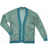 Geisha 94039-70 625 vest blue/green blauw
