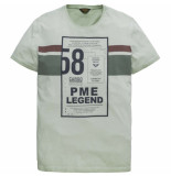 PME Legend R-neck single jersey aqua foam groen