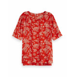 Maison Scotch Allover printed ladder top rood