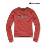 G-Star Micella crppd sweatshirt dam rood