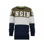 Vingino Sweater nathen army green leger groen