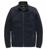 PME Legend Zip jacket structure sweat salute blauw