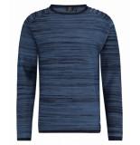 Kultivate 1901010801 319 knit space dye dark navy blauw