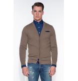 Blue Industry Vest bruin