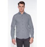 Blue Industry Casual shirt met lange mouwen grijs