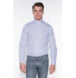 Blue Industry Casual shirt met lange mouwen wit
