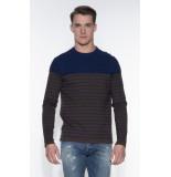 Blue Industry Sweater bruin