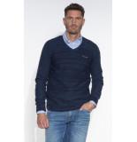 PME Legend Pullover v-hals blauw