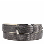 Rehab Belt lizard w18 casual riem antraciet