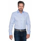 Donkervoort Casual shirt met lange mouwen blauw
