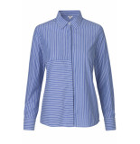 mbyM Contime shirt regan stripe blauw