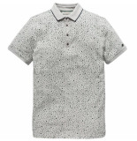 Cast Iron Cpss191510 960 short sleeve polo spot on aop jersey grey melee