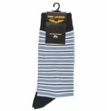 PME Legend Sock box cotton mix socks aqua foam blauw