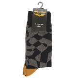 PME Legend Sock box cotton mix socks cathay spice grijs