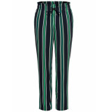Only Michelle pull-up pants groen