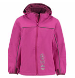 Minymo Fuchsia softshell jas basic 45 waterproof roze