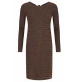 LOFTY MANNER Dress cecile bronze bruin