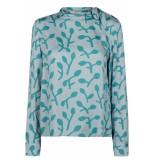Numph Azni blouse s.blue blauw