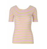 mbyM Vivica vinnie stripe pink yellow