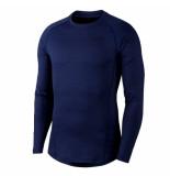 Nike M np thrma top ls 040173 blauw