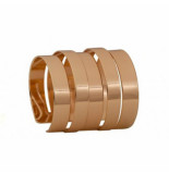 CLUB MANHATTAN Cuff golden stacks goud
