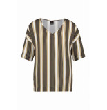 Penn & Ink S19f457 90-650 ny top stripe black havana