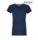 Kuyichi Collie tee dames blauw