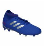 Adidas Predator 19.3 fg j 043120 blauw