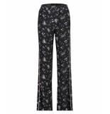 Catwalk Junkie Pantalon flower zwart