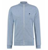 Kultivate Sweat jacket new train blauw