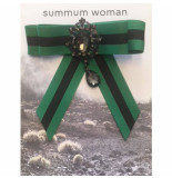 Summum 8s607-8269 990 women broche bow black/green