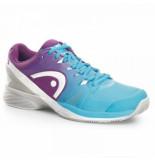 Head Tennisschoen nitro pro clay women aqua violet blauw