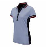 Sjeng Sports Ss lady polo aleaya 040668 blauw