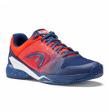 Head Tennisschoen revolt pro 2.5 clay men blue flame orange blauw