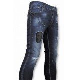 John H Heren jeans blauw
