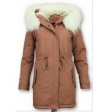Z-design Dames winterjas wit