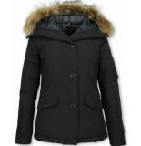 TheBrand Winterjassen zwart