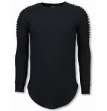Uniplay Longfit sweater zwart