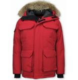 Beluomo Winterjassen rood