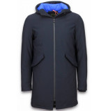 Wareen W Winterjassen blauw