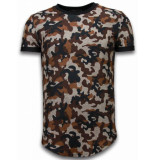 John H Camouflaged fashionable t