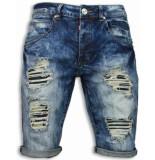 Justing Korte broeken heren blauw