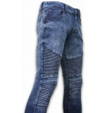 New Stone Exclusieve ripped jeans blauw