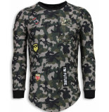 John H 23th us army camouflage shirt