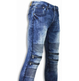 Justing Exclusieve jeans blauw