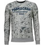 Black Number Park&cash grijs