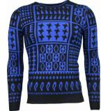 Akusawa Casual trui blauw