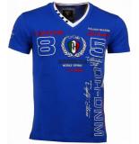 David Mello Italiaanse t blauw